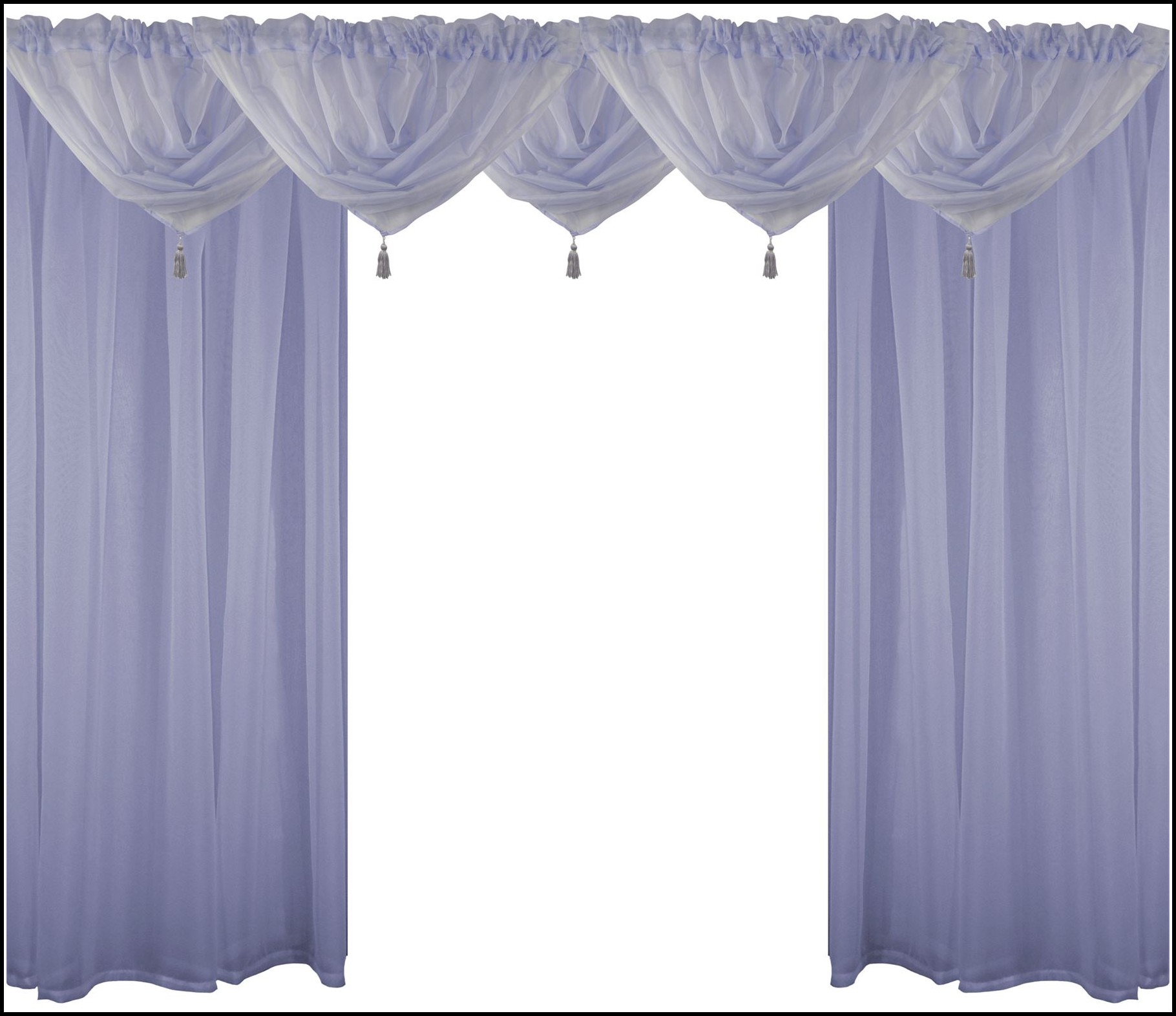 4 Rod Pocket Curtains