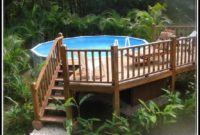 Above Ground Pool Deck Kit