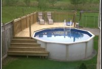 Above Ground Pool Decks Ideas