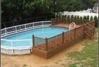 Above Ground Pool Decks Plans