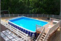 Above Ground Pool Decks Plans Free