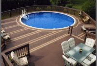 Above Ground Pools And Decks Installed