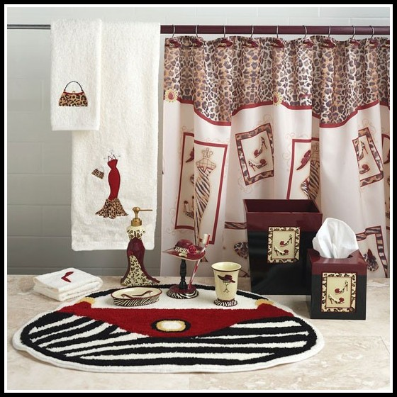 Anna Linens Bathroom Curtains