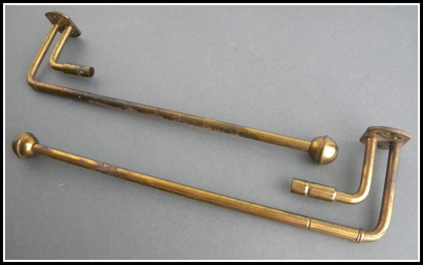 Antique Brass Curtain Rod