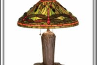 Authentic Tiffany Dragonfly Table Lamp