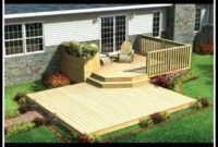 Backyard Decks On A Budget