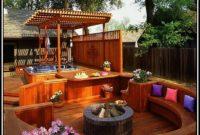 Backyard Decks With Hot Tubs