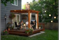 Backyard Decks With Pergolas