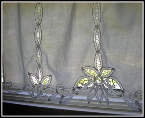 Battenburg Lace Curtain Panels