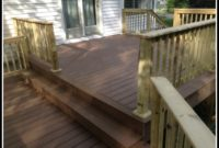 Brown Pressure Treated Decking