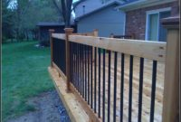 Build Deck Railing Metal Balusters