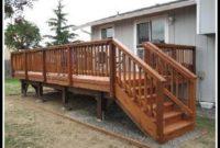 Building Deck Stair Railing