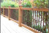 Cedar Deck Railing Ideas