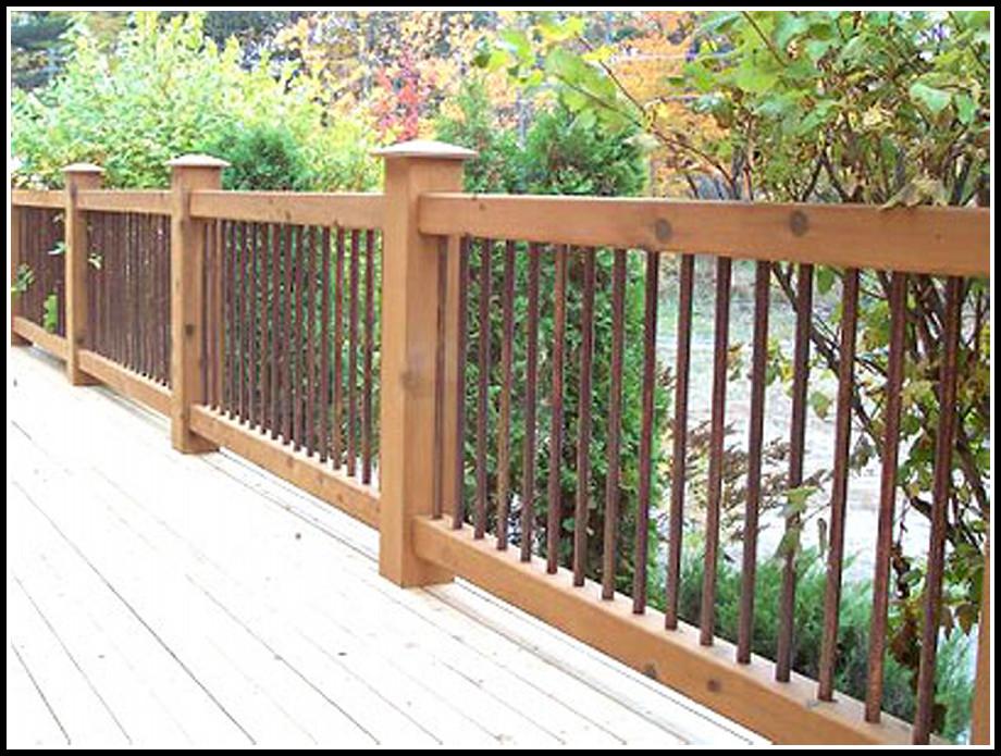 Cedar Deck Railing Ideas