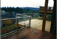 Cedar Deck With Aluminum Railing