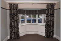 Ceiling Mount Curtain Rods For Bay Window