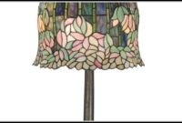 Dale Tiffany Stained Glass Butterfly Table Lamp