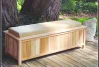 Deck Box Bench Plans