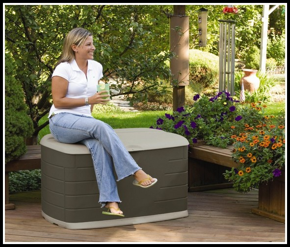 Deck Box With Seat Plans