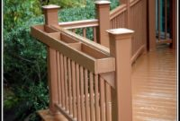 Deck Railing Planter Box Plans
