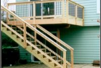 Deck Stairs Designs With Railing