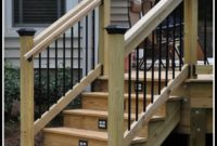 Deck Stairs Railing Ideas
