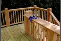 Deck Top Rail Ideas