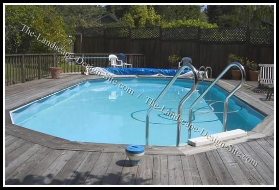 Decks Around Above Ground Swimming Pools