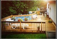 Decks Built Around Above Ground Pools
