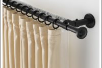 Double Curtain Rod Set Ikea