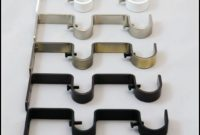 Double Rod Curtain Bracket