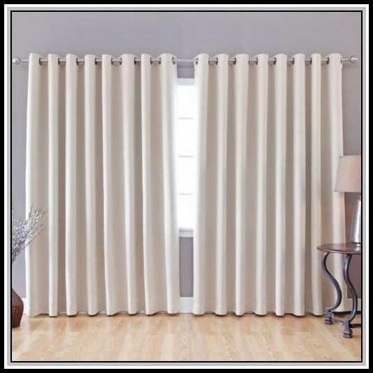 Extra Wide Curtain Panels