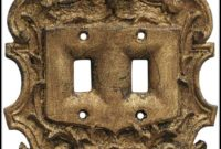 Fleur De Lis Light Switch Covers