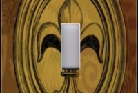 Fleur De Lis Light Switch Plate Covers