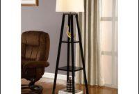 Floor Lamps With Shelf