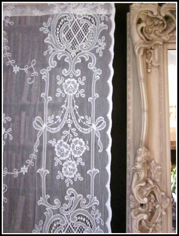 French Lace Curtain Panels