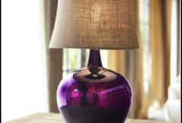 Glass Colored Table Lamps