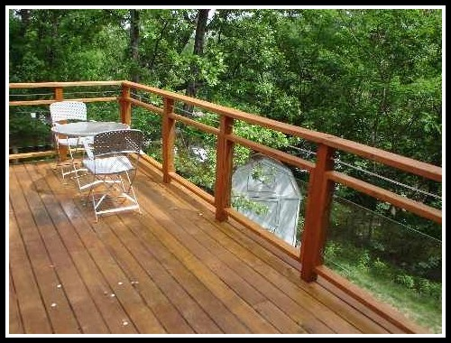 Glass Deck Railing Ideas