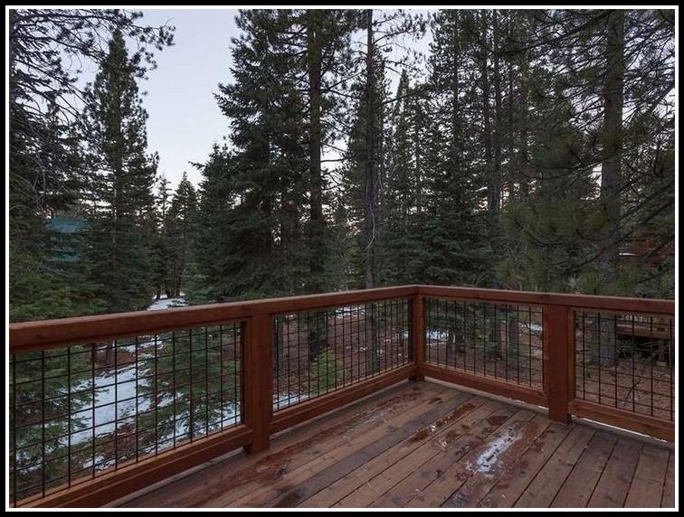 Hog Wire Deck Railing - Decks : Home Decorating Ideas # ...