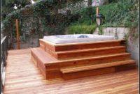 Hot Tub Decks Photos