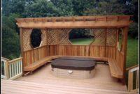 Hot Tub Decks Plans