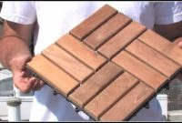 Ikea Wooden Deck Tiles