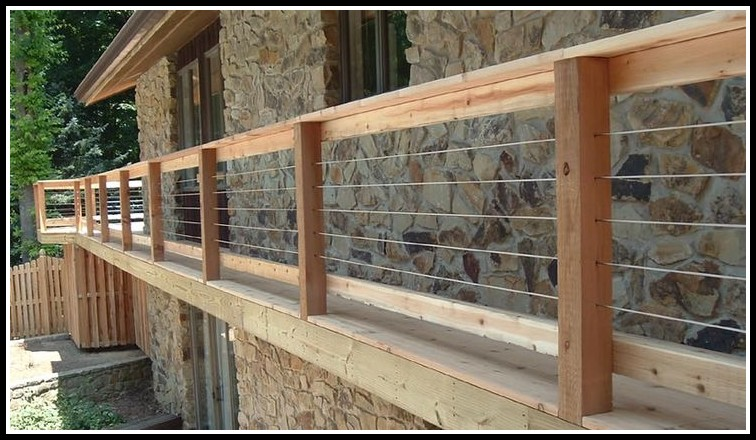 Inexpensive Deck Railing Ideas