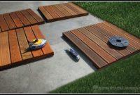 Ipe Deck Tiles Installation