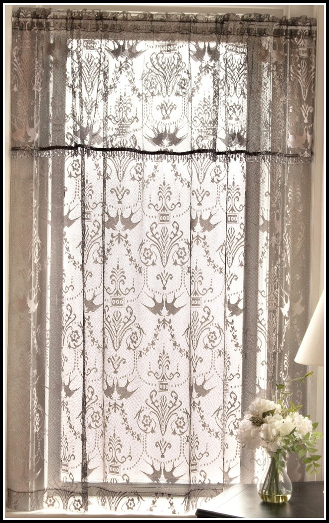 Lace Curtain Irish Joke Curtains Home Decorating Ideas