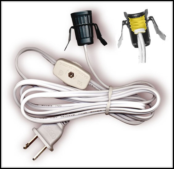 Lamp Cord With Switch And Plug