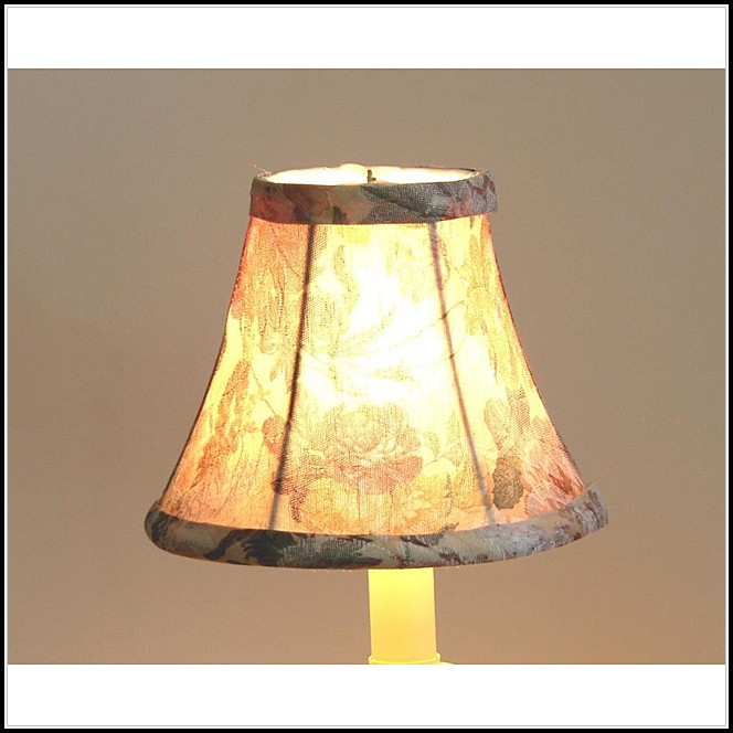 Mini Lamp Shades For Chandeliers Canada
