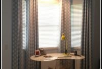 Modern Bay Window Curtain Ideas