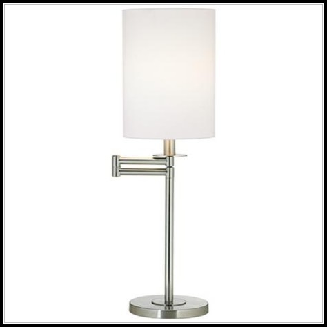 Modern Brushed Nickel Table Lamps