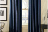 Navy Blackout Curtains Canada